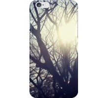 Sunshine Through The Trees iPhone Case/Skin