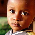 Unamused - Young Boy, Mshiri Village, Tanzania by timstathers