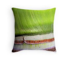Two tone bark Throw Pillow
