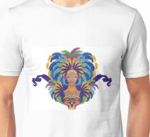 Beautiful carnival girl Unisex T-Shirt