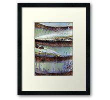 BBB... Baby Blue Bark Framed Print