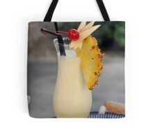 Pina Colada Cocktail Tote Bag
