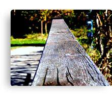 Rail. Canvas Print
