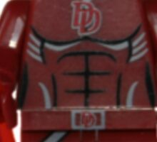 LEGO Daredevil Sticker