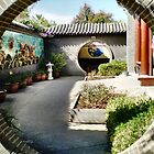 The In & Out  entrances to Chinese Gardens - Bendigo. Vic. by EdsMum
