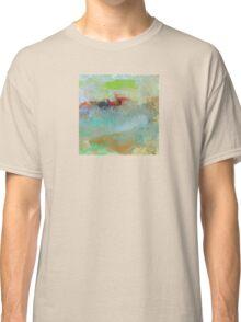 The Village on The Hill, Impressionism Art Classic T-Shirt