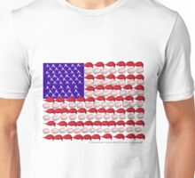 American Baseball by Darryl Kravitz Unisex T-Shirt
