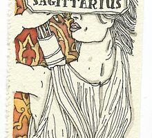 Sagittarius by Aya Rosen