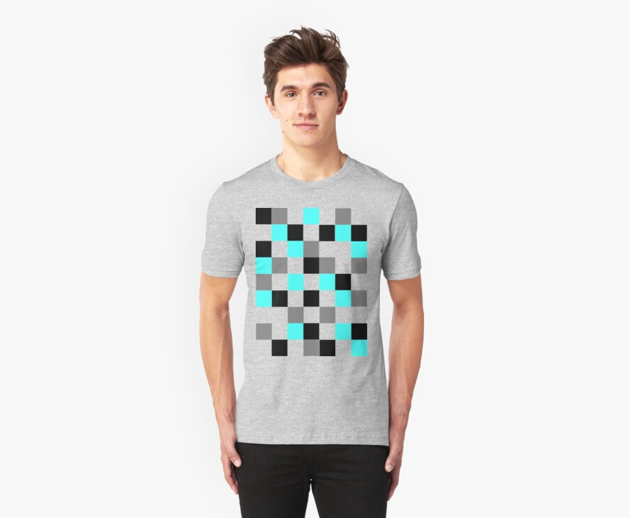 Blocks - Grey by LimeApparel