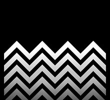 Zig Zag Black and White by Ely Prosser