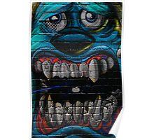 James P. Sullivan from Monsters Inc - Hosier Lane, Melbourne Poster