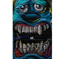 James P. Sullivan from Monsters Inc - Hosier Lane, Melbourne Photographic Print