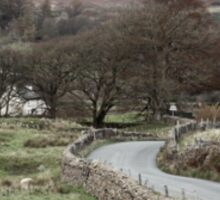 Rural Scene, Lake District Sticker