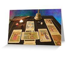 Tarot: Between the Worlds Greeting Card