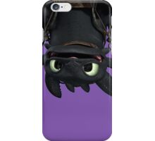 Upside Down Toothless iPhone Case/Skin