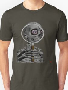 MAGNIFYING GLASS/ MESSAGE IN EYE T-Shirt