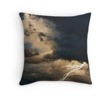 Moonlight Storms Throw Pillow