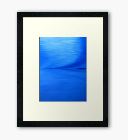 Wild Blue Yonder Framed Print