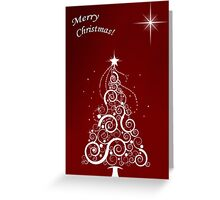 Merry christmas (red) Greeting Card