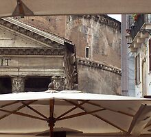 Pantheon: Rome, Italy by Mary Alice Franklin