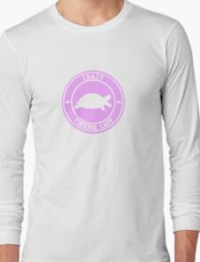 Crazy Tortoise Lady (Pink) Long Sleeve T-Shirt