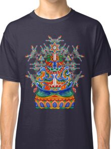 Meditating bear Classic T-Shirt
