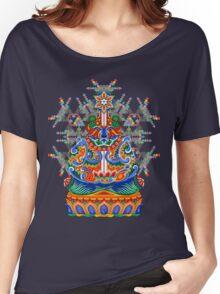 Meditating bear Women's Relaxed Fit T-Shirt