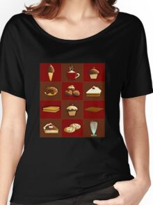 Chocolate - Sweet Show Women's Relaxed Fit T-Shirt
