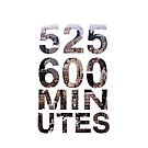 525,600 minutes by lunalalonde