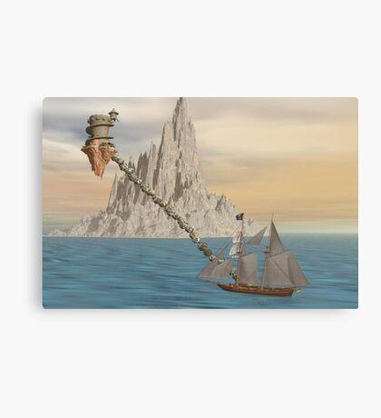 Pirates vacation Canvas Print