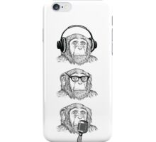 Hear Evil, See Evil, Speak Evil iPhone Case/Skin