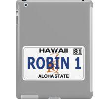 Robin 1  Magnum Hawaii Plate iPad Case/Skin