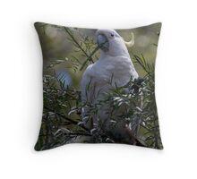 Resident Galah Throw Pillow