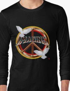 PEACE / MAGINE Long Sleeve T-Shirt