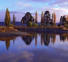Te Anau morning by Paul Mercer