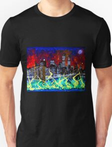 City Escape by Darryl Kravitz Unisex T-Shirt