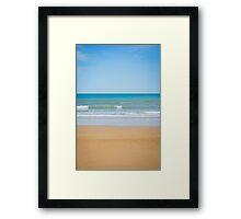 Beach.. Framed Print