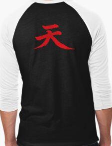 Akuma Kanji Men's Baseball ¾ T-Shirt
