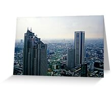 Tokyo Overview II Greeting Card