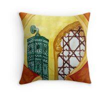 Women's Prayer Hall  Throw Pillow