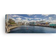 Queen Mary 2 Panorama Canvas Print