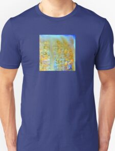 Earth and Water Abstract Design T-Shirt