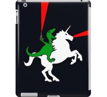 Dinosaur Riding Unicorn iPad Case/Skin