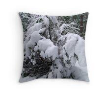 Snow Load Throw Pillow