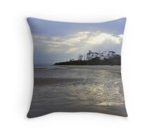 Tidal Patterns Throw Pillow