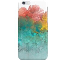 Water Flowing Up Abstract Design iPhone Case/Skin