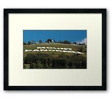Mt Panorama Framed Print