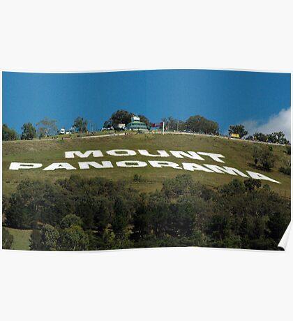 Mt Panorama Poster