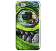 Mike Wazowski from Monsters Inc - Hosier Lane, Melbourne iPhone Case/Skin