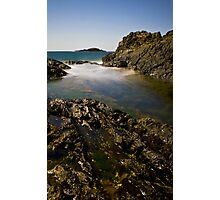 Rockpool long exposure Photographic Print